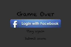 Facebook login View